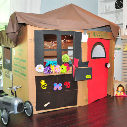 decked out indoor fort