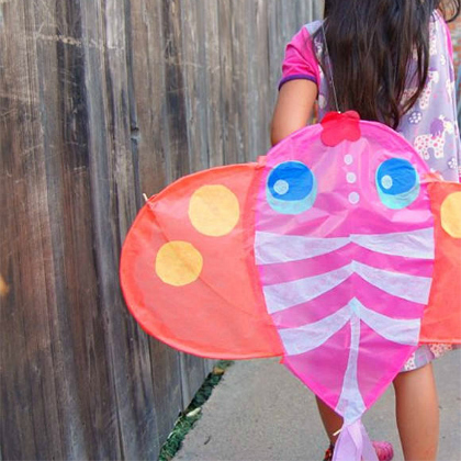 decorative diy kite