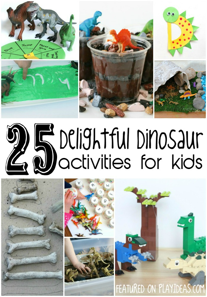 Dinosaur kids learn about in school