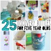 25 Discovery Bottles for Five Year Olds