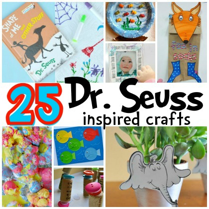 25 Dr. Seuss Inspired Crafts for Preschoolers