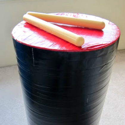 duct tape drum