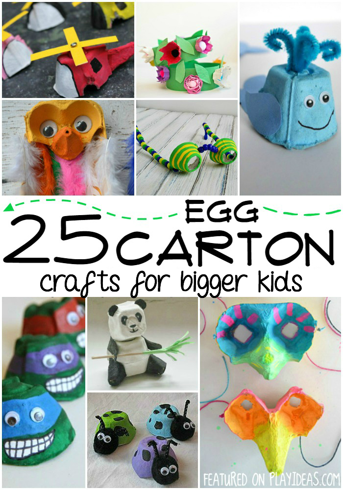 egg carton crafts for bigger kids