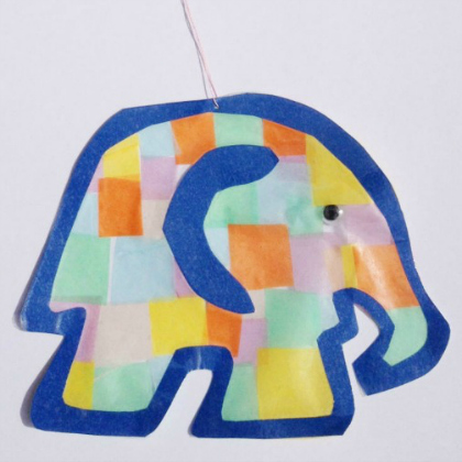 elephant suncatcher