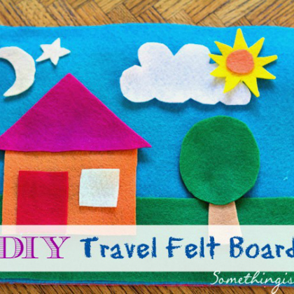 felt travel board