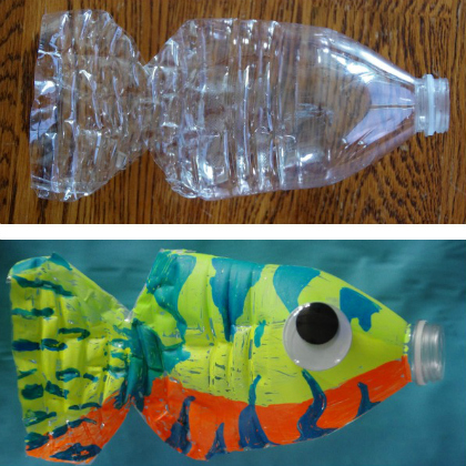 25 Plastic Bottle Crafts For Kids Page 22