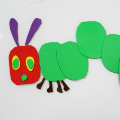 foam puzzle caterpillar