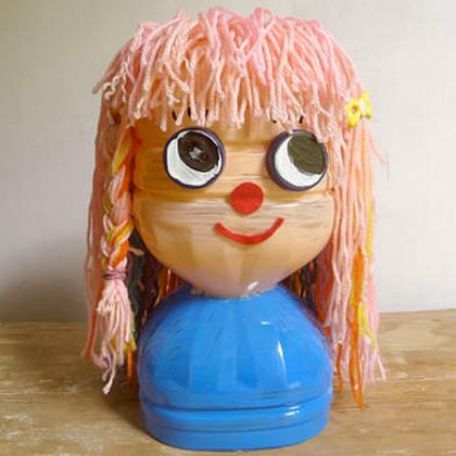 hair practice doll