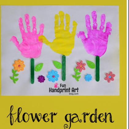 handprint garden
