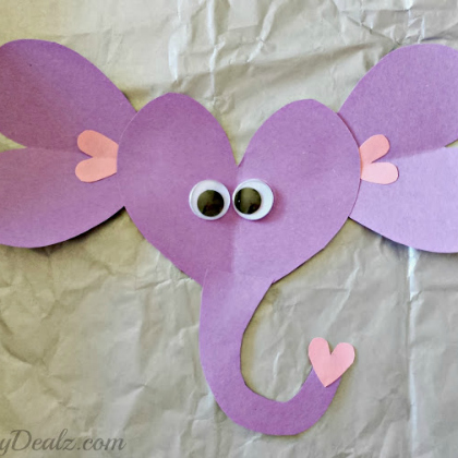 hearts elephant