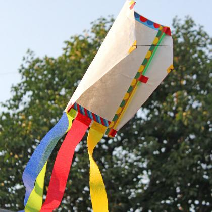 high flying kite