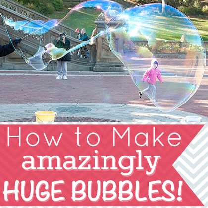 huge bubbles