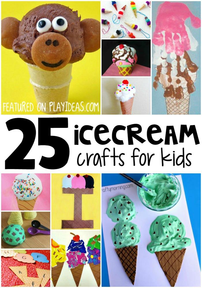 ice cream crafts