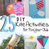 diy kite activities for five year olds
