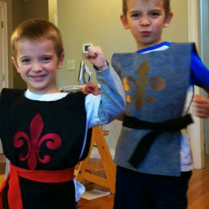 knight tunics