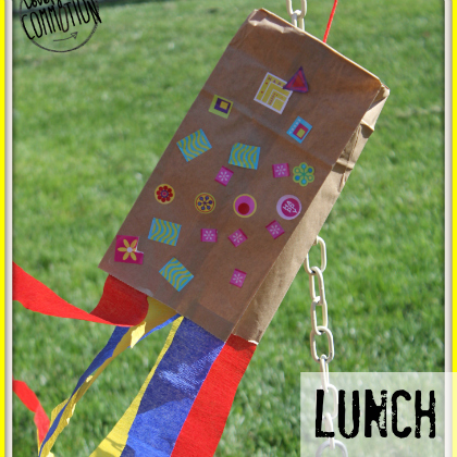 lunch sack kite