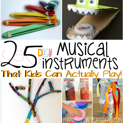 25 DIY Musical Instruments