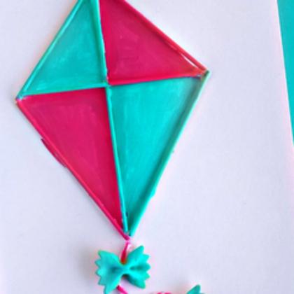 Preschool Kite Art Projects