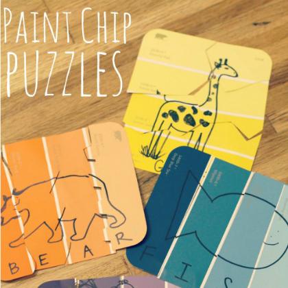 paint chip puzzle