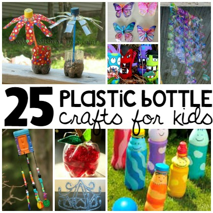 plastic bottle crafts for kids - Kinder Kid Competition