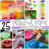 playful paint recipes