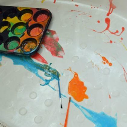 Playful Paint Recipes: Bubble Bathtub Paints