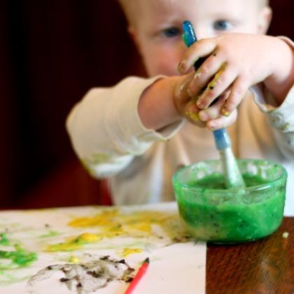 Playful Paint Recipes: Edible Fruit Paint