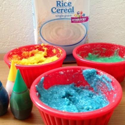 Playful Paint Recipes: Edible Infant Paint