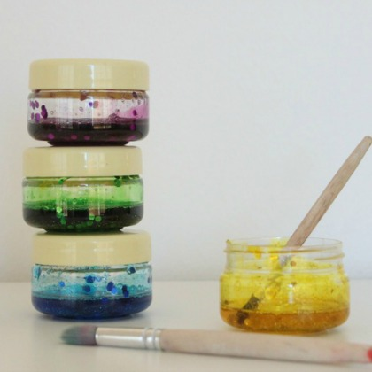 Playful Paint Recipes: Glitter Glue Paint