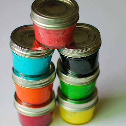 Playful Paint Recipes: Rainbow Finger Paints