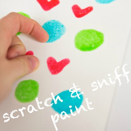 Playful Paint Recipes: Scratch and Sniff Paint