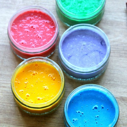 Playful Paint Recipe: Washable Window Paint