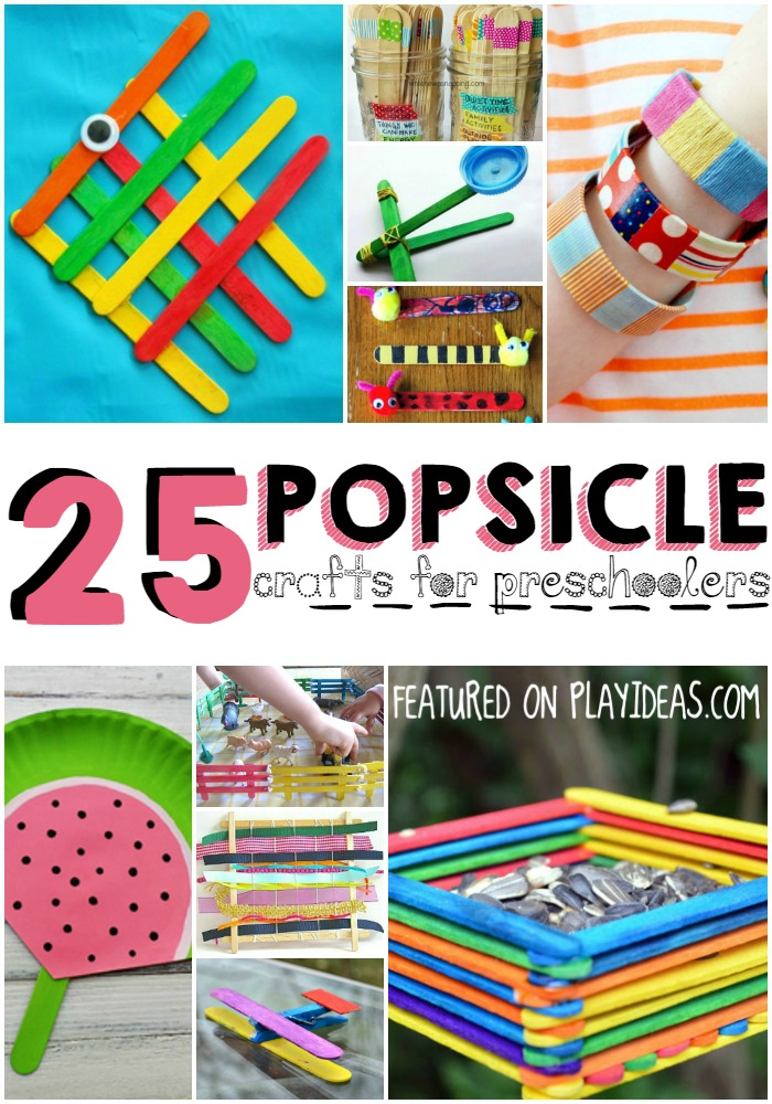 25 Popsicle Crafts for Preschoolers
