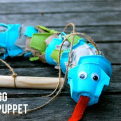 puppet snake