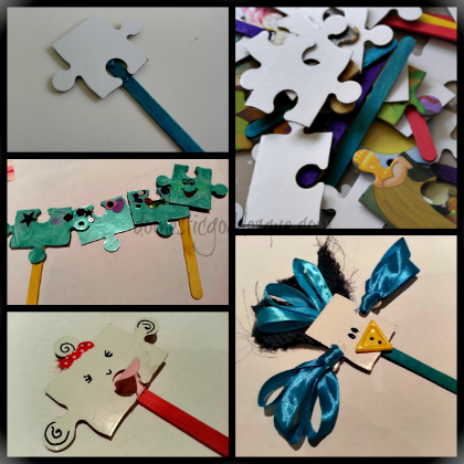 puzzle puppets