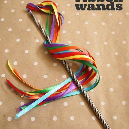 ribbon wand