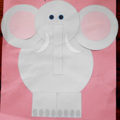 shapes elephant