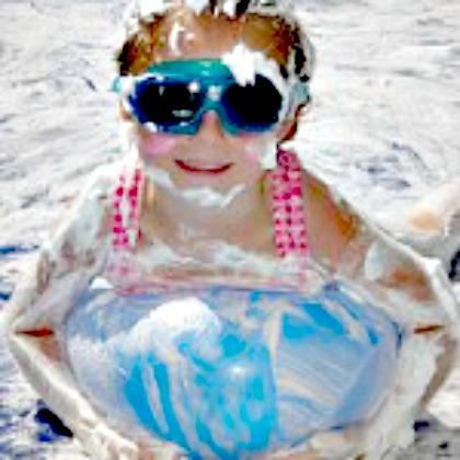 Summer Shaving Cream Play Ideas