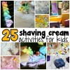 25 Spectacular Shaving Cream Activities