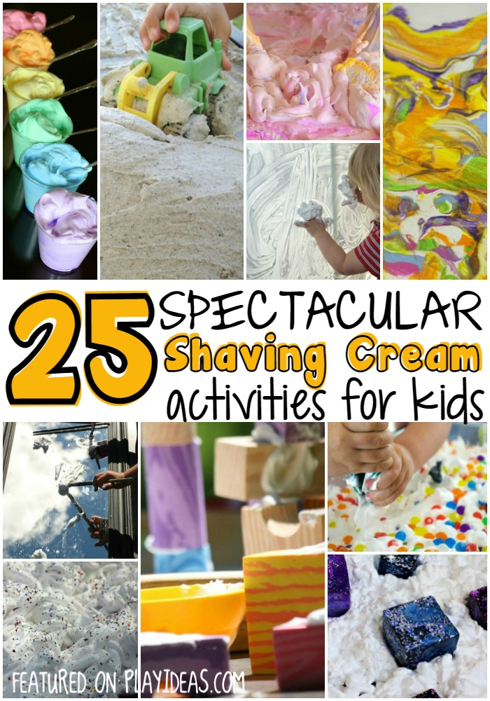 25 Spectacular Shaving Cream Activities for Kids