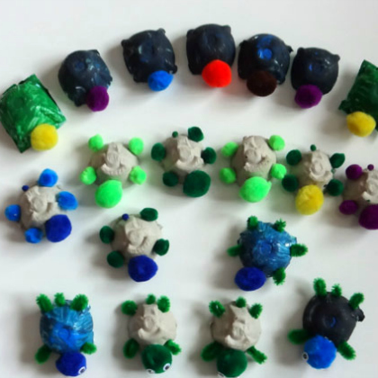 stackable yertle counting turtles