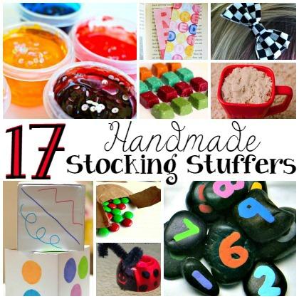 17 HANDMADE STOCKING STUFFERS