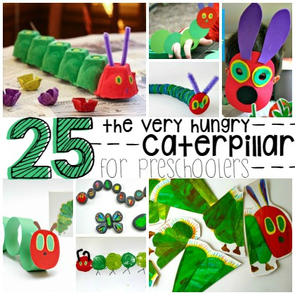 The Very Hungry Caterpillar For Preschoolers