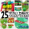 25 Totally Tubular Teenage Mutant Ninja Turtle Ideas for Kids