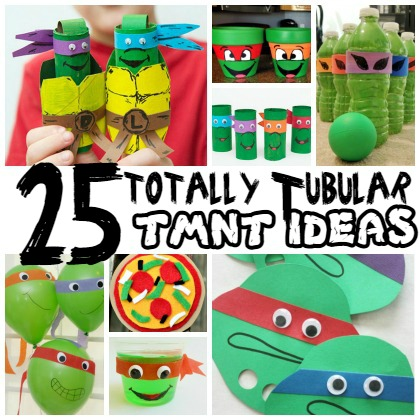 totally tubular tmnt ideas