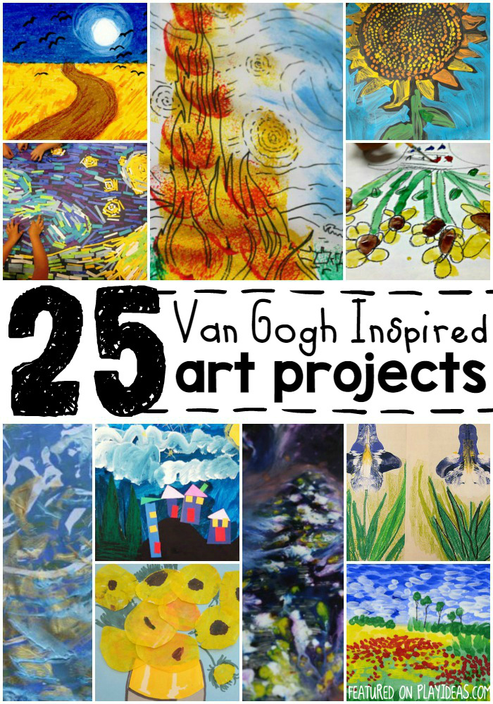 van gogh inspired art projects for kids