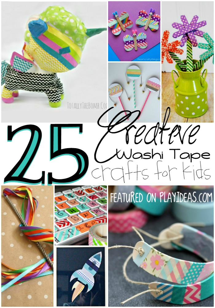 creative washi tape crafts for kids