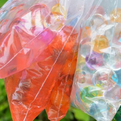 Water Bead Sensory Bags