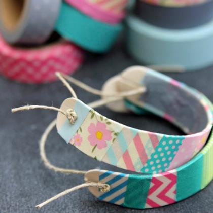 wooden bracelets