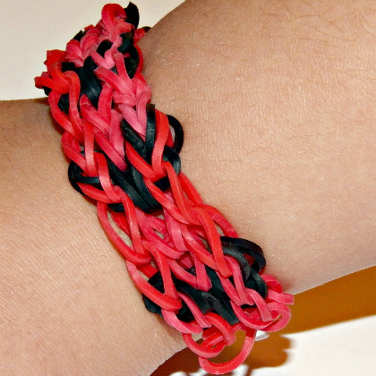 Mickey Mouse inspired loom bracelet